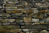 Close-Up of Viking Church Stone Wall