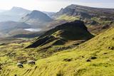 The Quiraing Walk on the Isle of Skye in Scotland