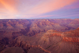 Sunset at Mather Point in Grand Canyon National Park  Arizona