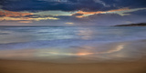 Panoramic of Sunrise Above Kawa'Aloa Bay on Molokai's North Shore