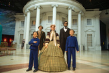 The Wax Sculpture Family of Abraham Lincoln Inside of the Lincoln Museum in Springfield