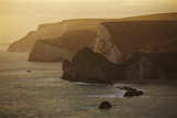 The Cliffs around Durdle Door  in the Jurassic Coast World Heritage Site  Dorset