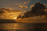 Dawn Breaking over the Coastline of Maui