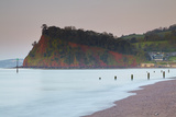 The Ness Headland at Shaldon  in the Mouth of the River Teign  from Teignmouth Beach