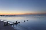 A Peaceful Dawn over Teignmouth Pier and Beach  Teignmouth  Devon  Southwest England