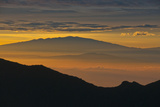 Sunrise Atop Haleakala  an Extinct Volcano on the Island of Maui in Hawaii