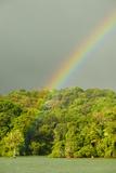A Rainbow over Barro Colorado Island  Panama