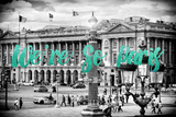 Paris Fashion Series - We're So Paris - Place de la Concorde IV