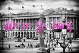 Paris Fashion Series - We're So Paris - Place de la Concorde III