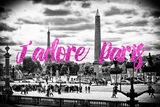 Paris Fashion Series - J'adore Paris - Place de la Concorde II