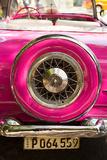 Pink Car in Cuba II