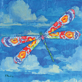 Wild Blue Dragonfly