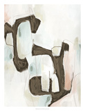 Sepia Structure I Giclée par Julie Silver