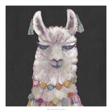 Noble Llama II Giclée par Julie Silver