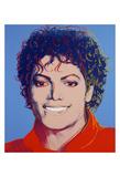 Michael Jackson, 1984 Reproduction d'art par Andy Warhol