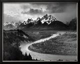 Tetons and The Snake River  Grand Teton National Park  c1942