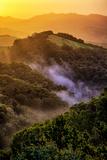 Sunrise Mood Northern California Hills  Mount Diablo