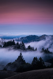 Gateway To Heaven  Beautiful Sunset and Fog at Mount Tamalpais  California