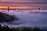 Living in this Dream of Fog and Light  Golden Gate Bridge  San Francisco