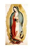 The Virgin of Guadalupe  Museo de America  Madrid  Spain
