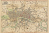 Map of London  1813