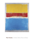 Untitled (Yellow, Red and Blue) Giclée par Mark Rothko