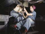 Women at Work on Bomber  Douglas Aircraft Company  1942