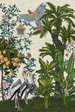 Paradis Chinoiserie II Reproduction d'art par Naomi McCavitt