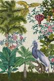 Paradis Chinoiserie I Reproduction d'art par Naomi McCavitt