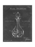 Barware Blueprint VIII Reproduction d'art par Ethan Harper