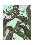 Neon Jungle II Reproduction d'art par Naomi McCavitt