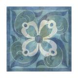 Patinaed Tile V Reproduction d'art par Naomi McCavitt