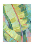 Vibrant Palm Leaves I Reproduction d'art par Jennifer Goldberger