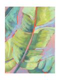 Vibrant Palm Leaves II Reproduction d'art par Jennifer Goldberger