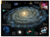 2014 Milky Way - National Geographic Atlas of the World  10th Edition