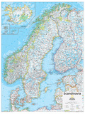 2014 Scandinavia - National Geographic Atlas of the World  10th Edition