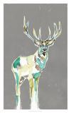 Solitary Deer I Giclée par Jennifer Goldberger