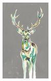 Solitary Deer II Giclée par Jennifer Goldberger
