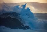 Storm Waves on the Coast of Achill Island  County Mayo  Ireland
