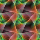 Seamless Color Fractal Veils Background