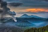 Mount Bromo Volcano  East Java  Indonesia
