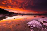Evening Light over Tufa at Mono Lake  Mono Basin National Scenic Area  California Usa