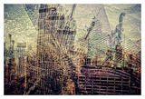 Distorted city scene 3