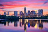 Austin  Texas  USA Skyline on the Colorado River