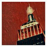Distorted city scene 39