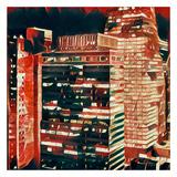 Distorted city scene 29