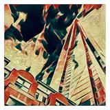 Distorted city scene 26