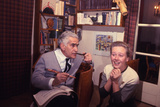 1965: Director Aleksandr Zarkhi and Actress Iya Savvina on Movie Set of 'Anna Karenina'  Russia