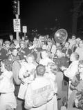Cheerleaders at the Minnesota- Iowa Game  Minneapolis  Minnesota  November 1960