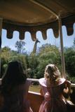 July 17 1955: Audio-Animatronics Giraffe in Disneyland's Jungle Cruise  Anaheim  California